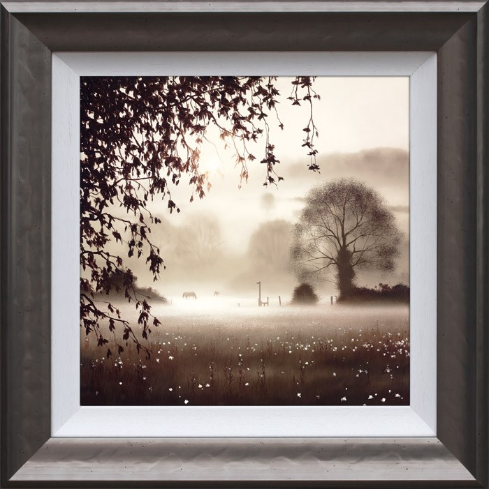 Enchanted Day by John Waterhouse - Limited Edition on Paper sized 16x16 inches. Available from Whitewall Galleries